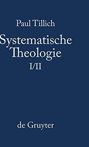 Systematische Theologie, Bd. 1/2
