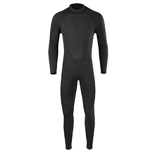 Traje De Buceo Traje De Neopreno De Neopreno De 2 Mm para Mujer, Hombre, Surf, Natación, Buceo, Triatlón, Traje Húmedo para Hacer Surf, Nadar, Deportes Acuáticos (Color : Men Black, Size : XXL)
