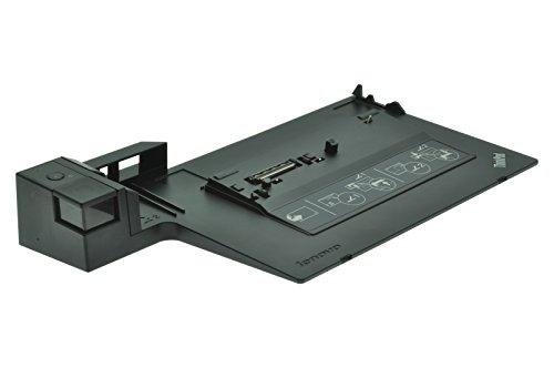 Lenovo 433610W - Base de conexión para portátil (USB 2.0, VGA, LAN), Color Negro