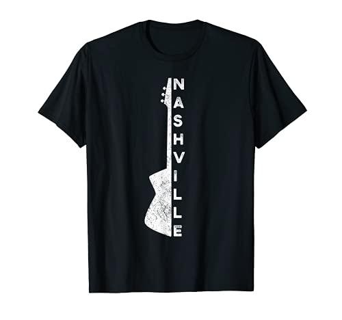 Nashville Guitar Country Music Lovers Regalos para el Día del Padre Camiseta