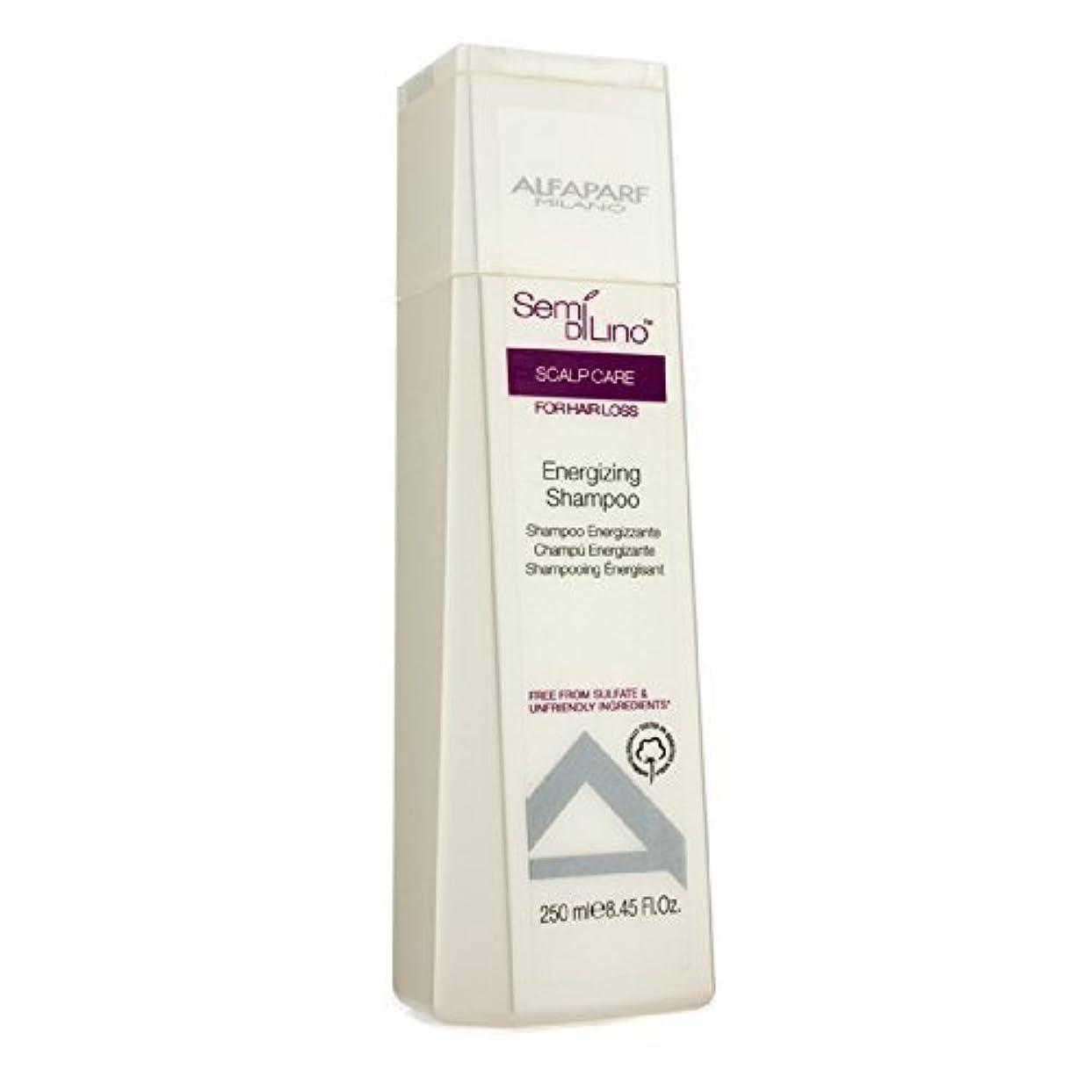 頻繁にメンバースカーフAlfaParf Semi Di Lino Scalp Care Energizing Shampoo (For Hair Loss) 250ml/8.45oz by Alfaparf [並行輸入品]