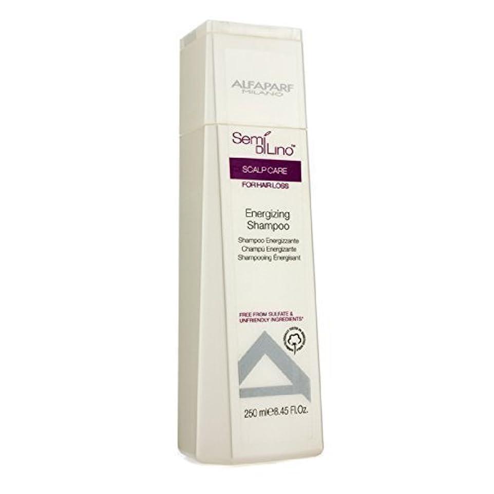 ミルチェスをするチップAlfaParf Semi Di Lino Scalp Care Energizing Shampoo (For Hair Loss) 250ml/8.45oz by Alfaparf [並行輸入品]
