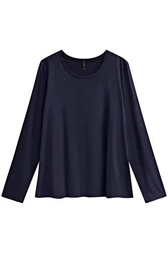Blusa Genova Plus Size, Maelle, Feminino, Azul, P