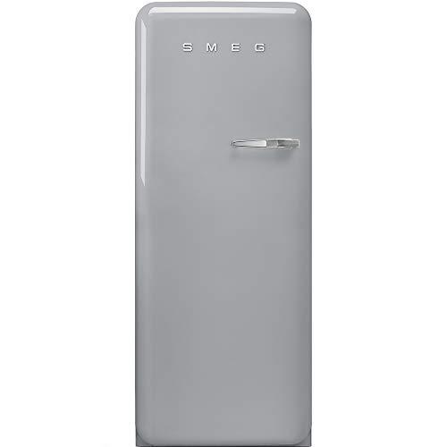 Smeg FAB28LSV3 frigo combine Autonome Argent 270 L A+++ - Frigos combinés (Autonome, Argent, Gauche, 110°, Verre, 270 L)