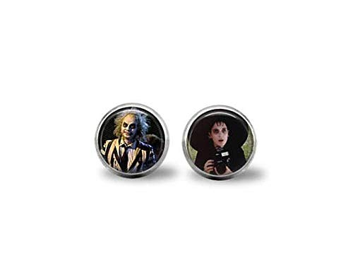 bab Beetlejuice & Lydia Movie Earrings