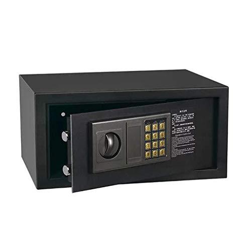 TYZXR Home Office Safe mit Tastensperre, Sicherheit Schutz Diebstahlsicherung Digitale Elektronische Stahlkonstruktion Safe Für Hausratversicherung Geheime Kabinettsafe Schwarz 400 * 300