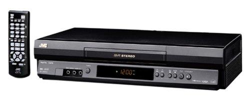 JVC HRJ692U 4-Head Hi-Fi VCR , Black