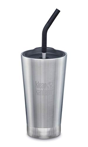 Klean Kanteen Insulated Tumbler Gobelet Isotherme pour Adulte Unisexe Argenté 88,9 x 88,9 x 250,2 mm