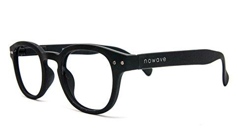 NOWAVE Occhiali da lettura Anti luce blu e UV   Montatura leggera e moderna