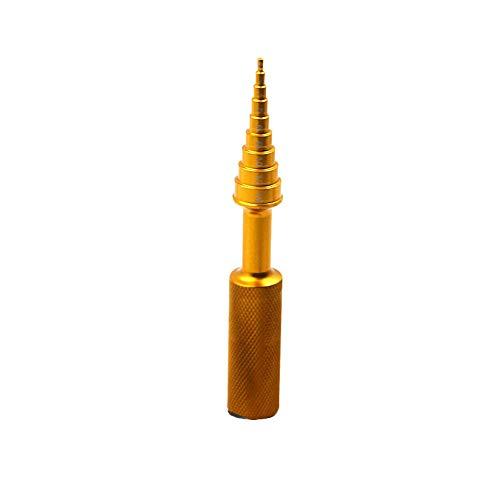 ELECTRONIC-MEI 1PC 2-14Mm Oro/Nero Cuscinetti Disassemblatori Alluminio Cuscinetto Rimuovere Gli Strumenti Estrattori Installatori Strumento Mano Set,d'oro