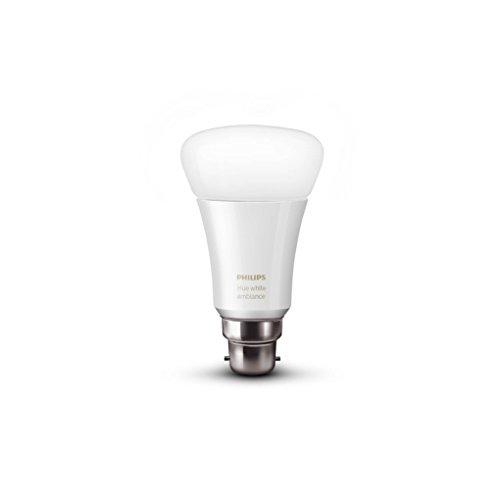 Philips Hue Ampoule LED Connectée Ambiance Plastique 9,5 W B22 Blanc