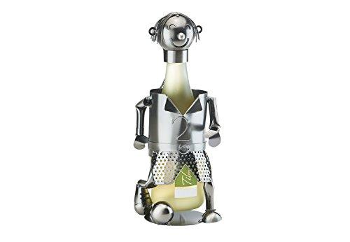 Kobolo Detailreicher Flaschenhalter Fussballer aus Metall