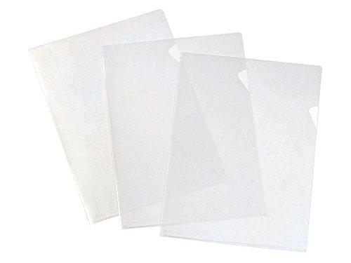 Elba 400068884 - Caja de 100 dossiers uñero polipropileno, color cristal transparente