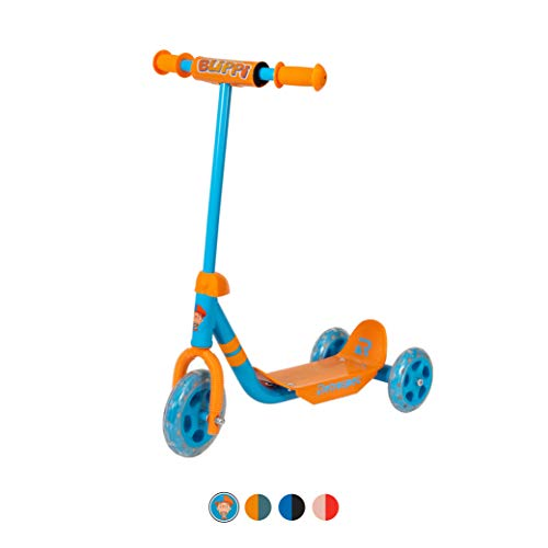 Cheap Retrospec Chippy 3-Wheel Kick Scooter for Kids, Toddlers, Girls and Boys with Padded Handlebar...
