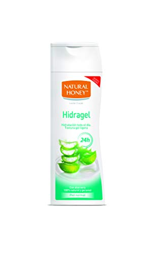 Natural Honey Loción Corporal Hidragel con Aloe Vera 100%