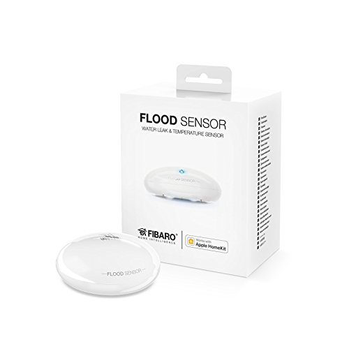 FIBARO Flood Sensor Apple Homekit, 1 Stück, FIB_FGBHFS-101