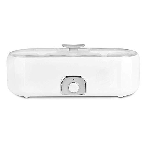 SCJ Automatische Digitale Joghurtmaschine mit einem Knopfdruck, 4 Glasflaschen, Edelstahlauskleidung, praktisch und praktisch