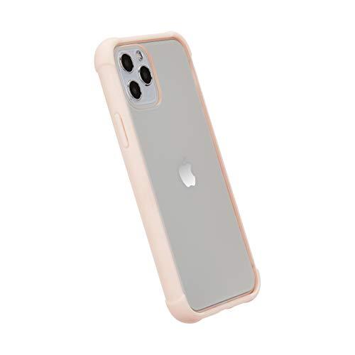 AmazonBasics - Funda protectora para iPhone 11 Pro, TPU+PC (rosa), antiarañazos