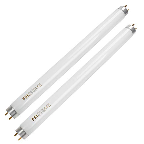 2 Pack Replacement 10W UV Light Bulb for 20W Electric Bug Zapper,13inch 10W Replacement UV T8 Mosquito Zapper Lamp Bulb Light Ultraviolet Tube,Bug Zapper Bulb for 20 Watt Mosquito Insect Killer