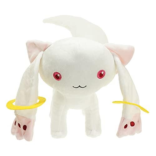 xHxttL Puella Magi Madoka Magica Peluche incubadora de Anime, muñeco de Peluche, Animales de Peluche, Juguete de Felpa, Cosplay, Gato, muñecos Suaves, Regalos para fanáticos del Anime