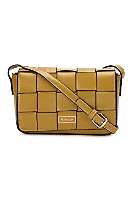 Van Heusen This Bag is Smooth Finished with Classy Look which Compliments Your Wardrobe (Yellow)