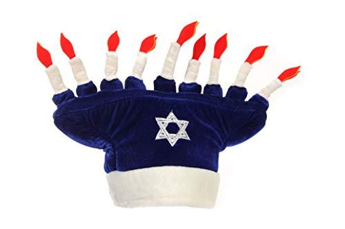 Happy Chanukah Plush Hat Standard