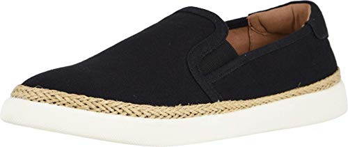 Vionic Women's Sunny Rae Slip-on Sneaker - Ladies Sneakers Concealed Orthotic Arch Support Black Black 9 M US