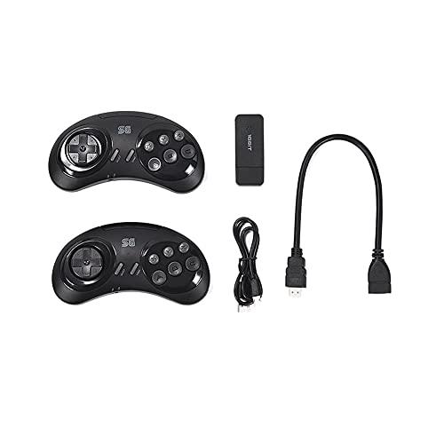 Lightofhope Consola de Juegos InaláMbrica MD de 16 bits para Sega Palo de Juego Compatible con 900 + Juego para Sega / Mega Drive