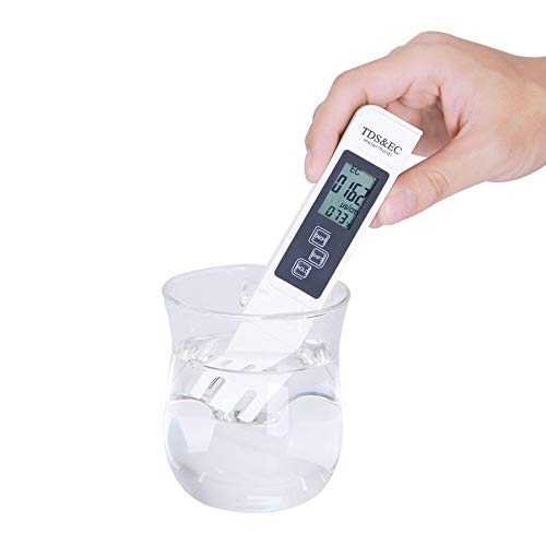 Axeon TDS Meter With Temperature And Water Quality Measurement For Ro Purifier