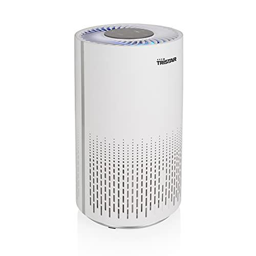 Tristar AP-4787 Purificador de aire – Reduce las molestias de la alergia y el asma - 3 filtros distintos (H13 filtro HEPA, filtro de carbono, prefiltro), hasta 25 m², 52 dB, 3 posiciones, temporizador 🔥