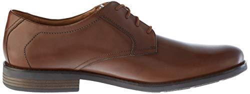 [クラークス]ビジネスシューズ革靴ベッケンレース本革メンズダークタンレザー27.0cm