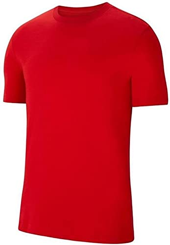 NIKE Camiseta Unisex para niños Team Club 20 tee (Youth), Unisex niños, Camiseta, CZ0909-657, Rojo/Blanco, 8-10 años