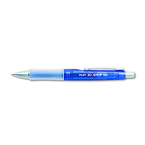 PILOT Dr. Grip Refillable & Retractable Gel Ink Rolling Ball Pen, Fine Point, Purple Barrel, Black Ink, Single Pen (36261)