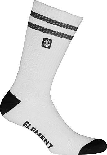 Element Herren CLEARSIGHT Socks, Optic White, U