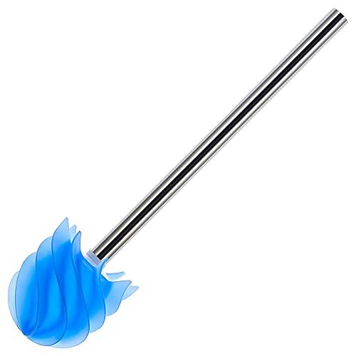 LOOMAID Silikon WC-Bürste mit Lotuseffekt – Made in Germany – Ersatz Klobürste, Toilettenbürste (Blau)