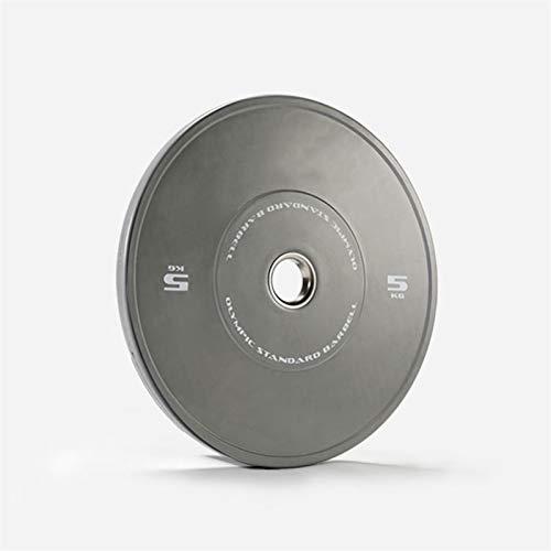 Ownlife Farbige Olympische Fraktionierte Gewichte Platten Gewichtheben Scheiben Hantelblech Stoßstange Teller für Home Fitness, Paar (Größe : 5KG*2)