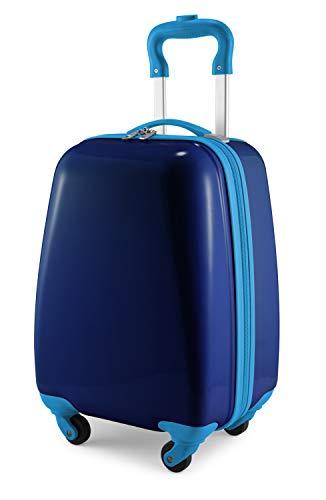 Hauptstadtkoffer Kids Luggage Children's Luggage Suitcase Hard-Side Glossy Multicoloured Dark Blue