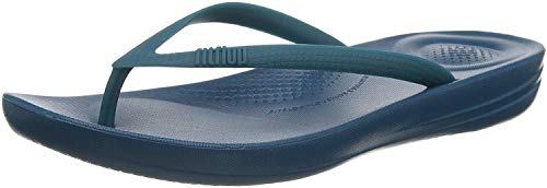 Fitflop Iqushion Flip Flop-Solid, Chanclas Mujer