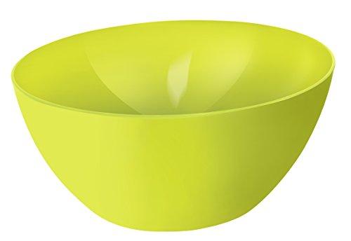 Rotho Caruba Schüssel 8 l, Kunststoff (BPA-frei), Grün, 8 Liter (34 x 34 x 15 cm)
