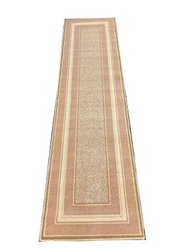 Kitchen Rug Non-Skid | Runner Mat Non-Slip | Rug for Kitchen Floor with Rubber Backing | Floor Mat | Low Profile  20  x 59    1975-Cream