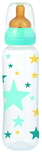 TIGEX biberón latex +6 meses 330 ml