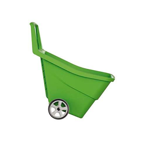 Prosperplast Schubkarre Gartenkarre Gartentrolley Karre Wagen Gartenwagen IWO 95Liter Grün