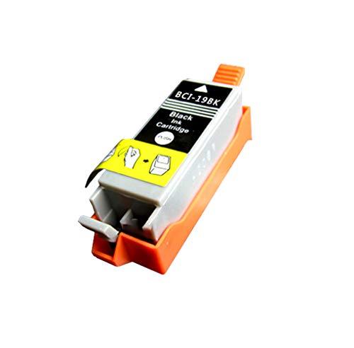 GYBN Cartucho de Impresora de Gran Capacidad con Chip, para Cartucho Canon PIXUS ip100 IP110 BCI-19-black