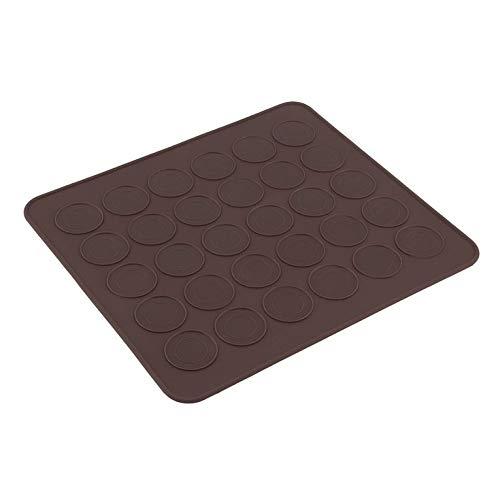 N/V Professionelle große 30 Macarons/Muffins Silikon Backblech Matte Tasse Kuchenform Tablett Backgebäck Form Matte Blatt Matte