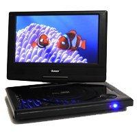 Orei DVD P901 9 Inch Swivel Portable