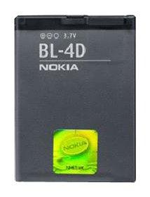 Nokia BATNOBL4D Akku für BL4D / N97 / Mini E5 / E7-00 / N8-00 / N97 / N8 / 7500 / Prism 2660/2760 / 7373/5000 / 2630