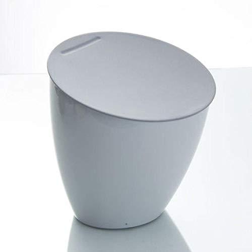 Prullenbak mini vuilnisemmer desktop T Home Office badkamer keuken mand met deksel Desktop Garbage Box opbergdoos