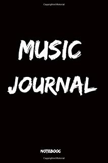 Music journal: MOREYES Blank Sheet Music,Book,Music clef notebook,120 Pages 6 x 9 inchas