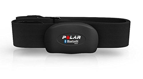 Polar - H7 - Herzfrequenz-Sensor-Set - aktuelles Modell 2017 - inklusive Pro Strap Schwarz - M-XXL