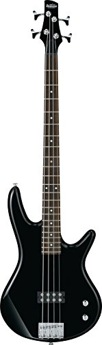 Ibanez 4 String Bass Guitar, Right, Black (GSR100EXBK)